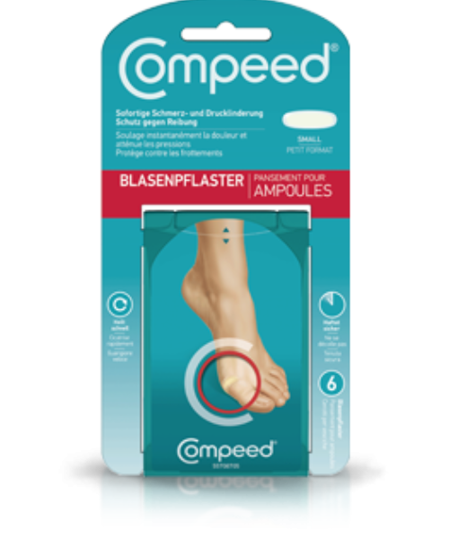 Compeed<sup>®</sup> Blasenpflaster Small